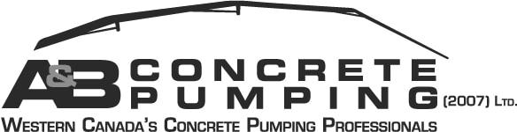 A&B Concrete Pumping Logo